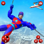 Flying Spider Robot Speed Hero MOD (Remove All Ads) 1.11