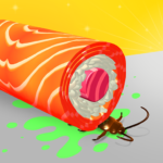 Sushi Roll 3D – Cooking ASMR Game MOD 1.6.3 (No Ads)