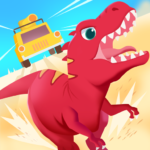 Dinosaur Guard – Jurassic! Driving Games for kids MOD 1.0.5 ( 6 vehicles + 3 locations)
