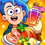 Potion Punch 2: Fun Magic Restaurant Cooking Games MOD 1.8.5  ( Handful of Gems)