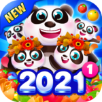 Bubble Shooter 2021 MOD ( 10 Coins To Pop Some Bubbles) 1.8.86