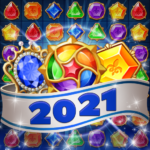 Jewels Mystery: Match 3 Puzzle MOD ( 50 Coins) 1.3.6