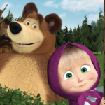Masha and the Bear. Educational Games MOD ( Remove ads and unlock games) 6.6