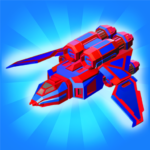 Merge Space Ships: Cyber Future Merger 3D MOD  2.0.18