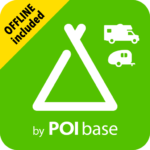 Camping.Info Navi by POIbase Campsites & Pitches MOD (Camping PRO+) V7.3.1