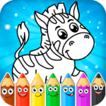Coloring pages for children: animals MOD ( Remove advertisement) 1.1.0