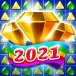 Jewel & Gems Mania 2020 – Match In Temple & Jungle MOD ( 100 gold coins) 8.8.7