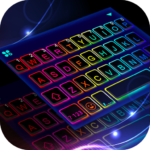 Led Neon Color Keyboard Theme MOD (All Backgrounds) 1.0