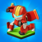 Merge Robots – Click & Idle Tycoon Games 1.6.5  MOD ( Diamonds Pack 3)