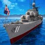 Naval Armada:Navy Game About Warship Craft Games MOD 3.75.9 ( Gold 50,000)