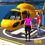 Helicopter Taxi Tourist Transport MOD 3.1.229
