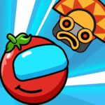 Red Bounce Ball Heroes MOD 1.44