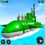 US Army Submarine Driving Military Transport Game 3.4 MOD