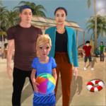Virtual Family Summer Vacations Fun Adventures 1.08 MOD (Family Camper Remove ads Inapp)