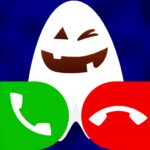 fake call with cute ghost game MOD 13.0