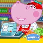 Cashier in the supermarket. Games for kids MOD (Unlimited Money) 1.1.5