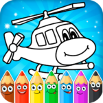 Coloring pages for children MOD 1.2.3