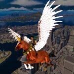 Flying Horse Taxi City Transport: Horse Games 2021 MOD 3.0