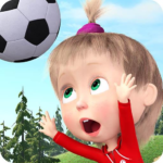 Masha and the Bear: Football Games for kids MOD (Unlimited cups) 1.3.8