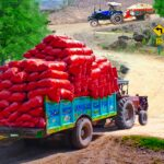 Real Cargo Tractor Trolley Farming Simulation Game MOD (Unlock Everything) 1.0