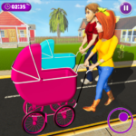 Virtual Mother New Baby Twins Family Simulator MOD 2.2.2