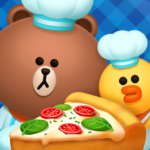 LINE CHEF Enjoy cooking with Brown! MOD (Unlimited Money) 1.16.1.0