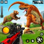 Wild Dinosaur Hunting Attack 1.38 MOD (Unlimited Money) Varies with device